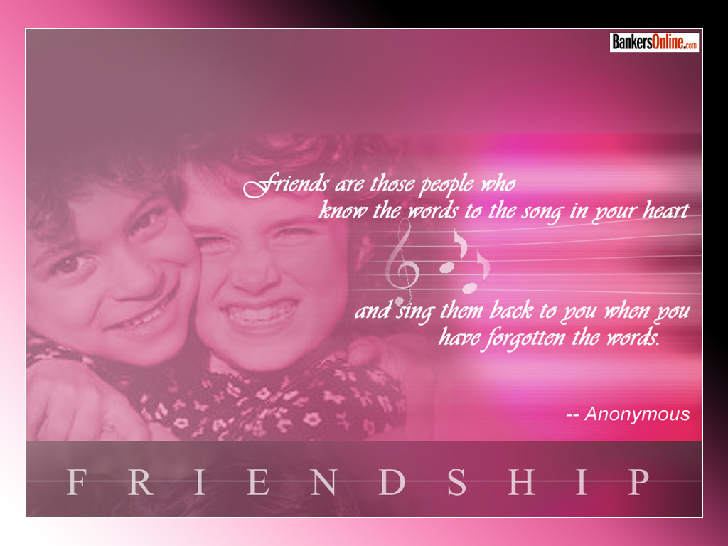 Anonymous Quotes About Friendship Friendship Quotes  Best Friends Forever